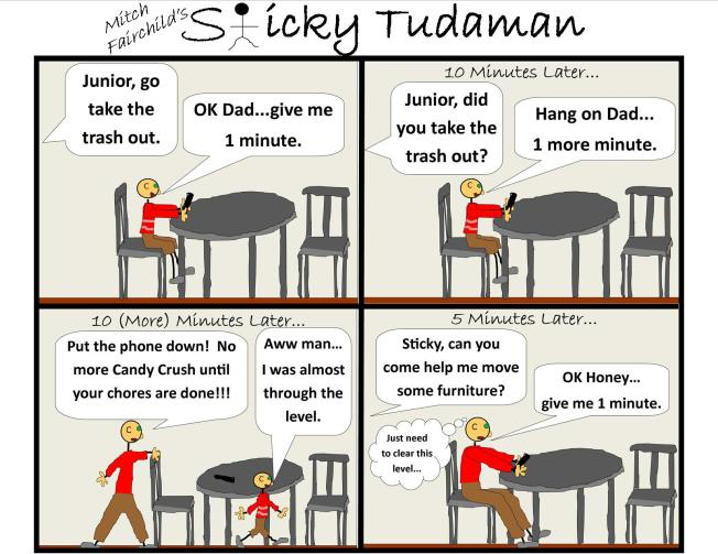 Sticky Tudaman: Candy Crush