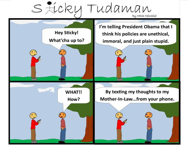 Sticky Tudaman On NSA Cell Phone Spying
