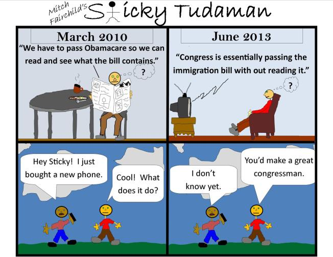 Sticky Tudaman On The Bill Passing Process