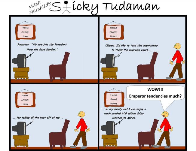 Sticky Tudaman: Thankful President