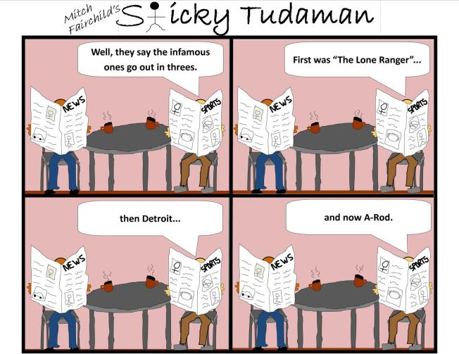Sticky Tudaman: The Infamous Go In Threes