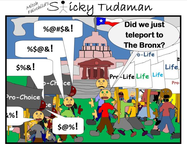 Sticky Tudaman: Protest Strategies