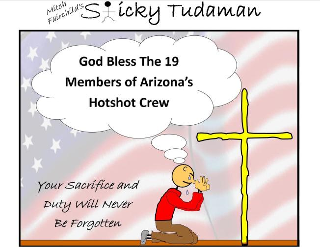 Sticky Tudaman: Arizona's Elite 19 Firefighters