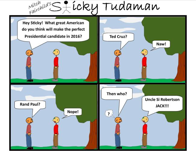 Sticky Tudaman: Possible 2016 Presidential Candidates
