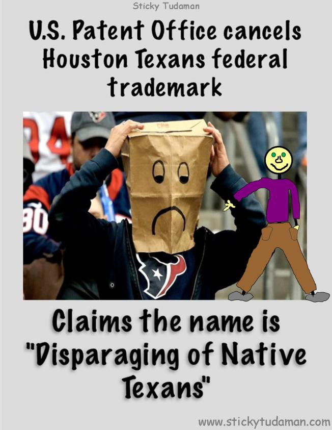 Redskins?  What About The Texans